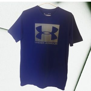 Under Armour basic blue Tshirt loose fit unisex